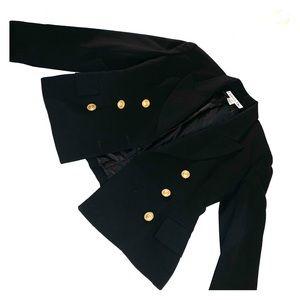 Christian Dior black classic blazer